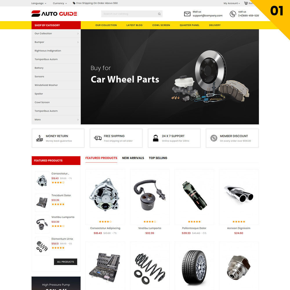 theme - Auto & Moto - Autoguide - Le magasin de méga moteur - 3