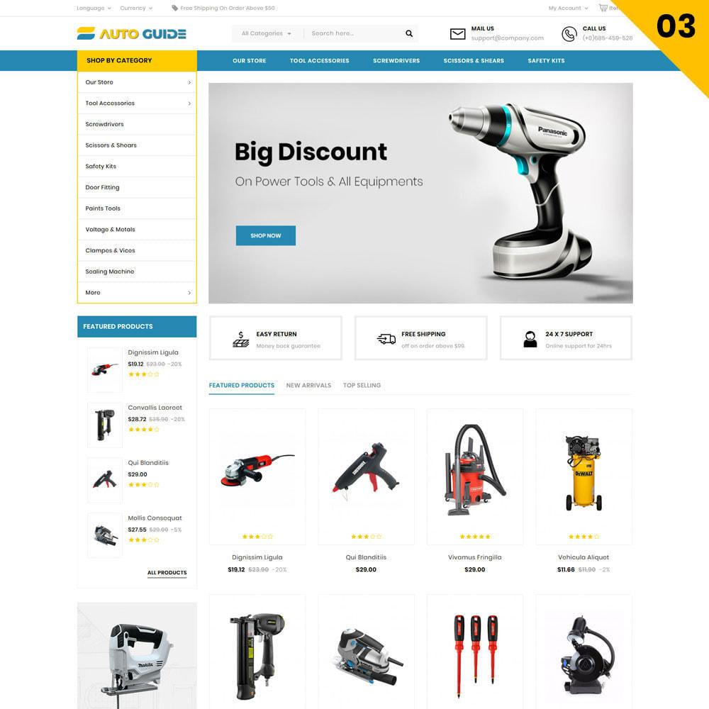 theme - Auto & Moto - Autoguide - Le magasin de méga moteur - 5