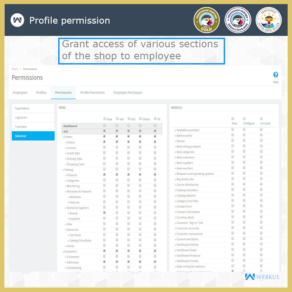 module - Amministrazione - Employee Advance Permission | Admin Staff - 8