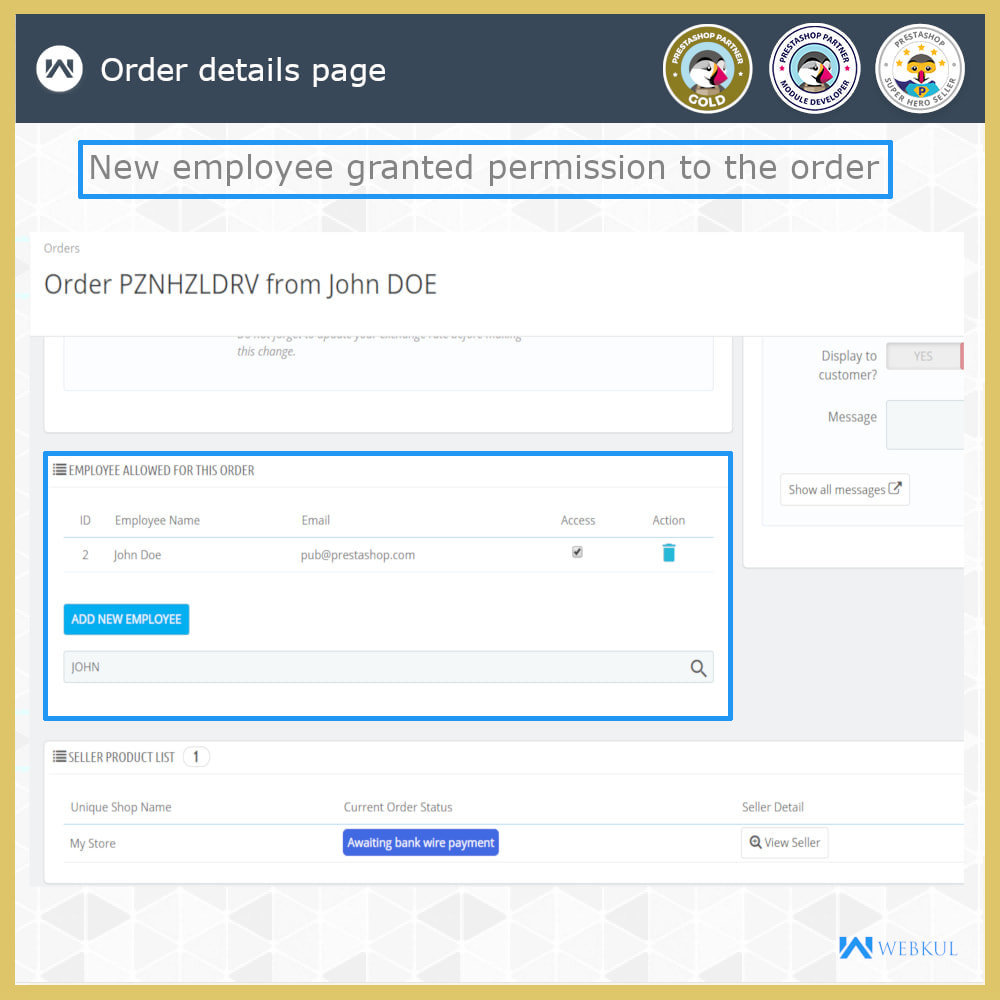 module - Amministrazione - Employee Advance Permission | Admin Staff - 15