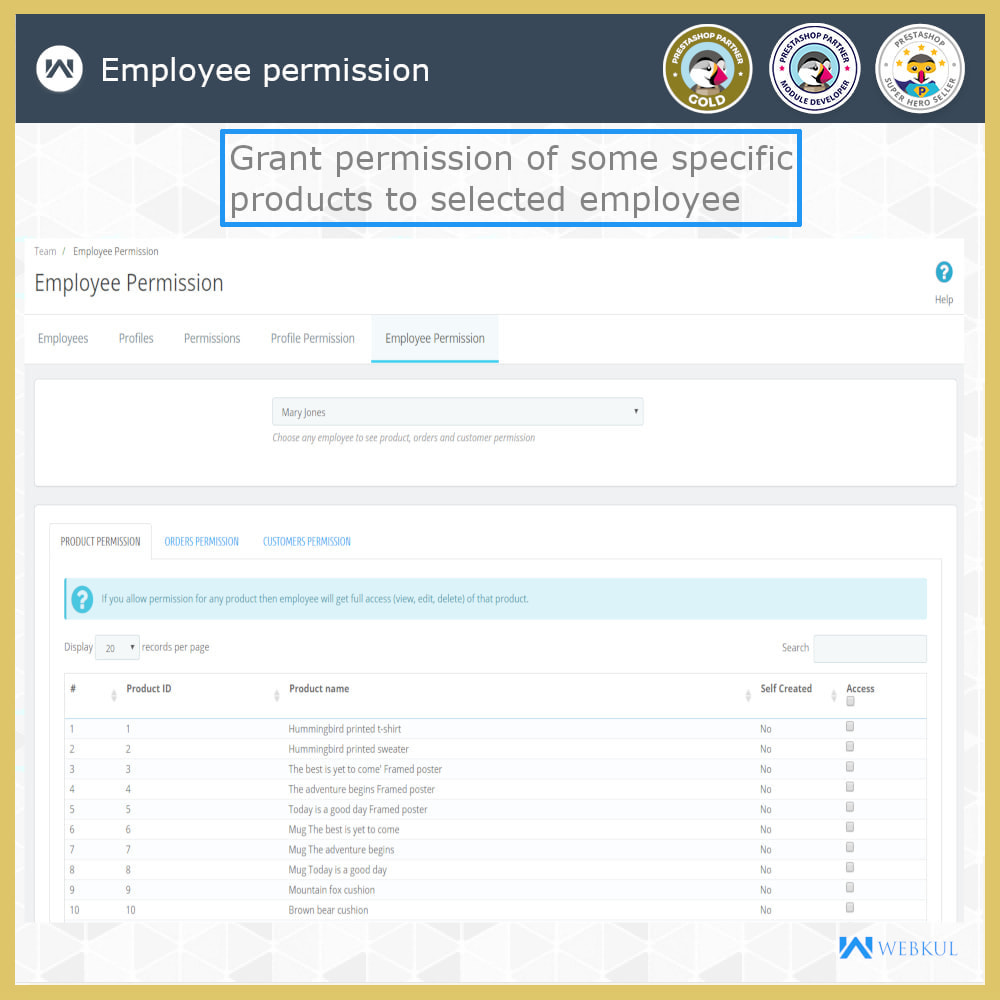 module - Amministrazione - Employee Advance Permission | Admin Staff - 20