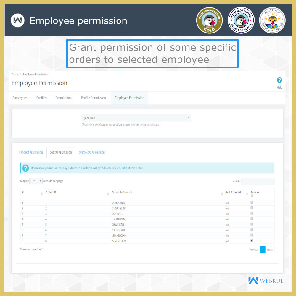 module - Amministrazione - Employee Advance Permission | Admin Staff - 21
