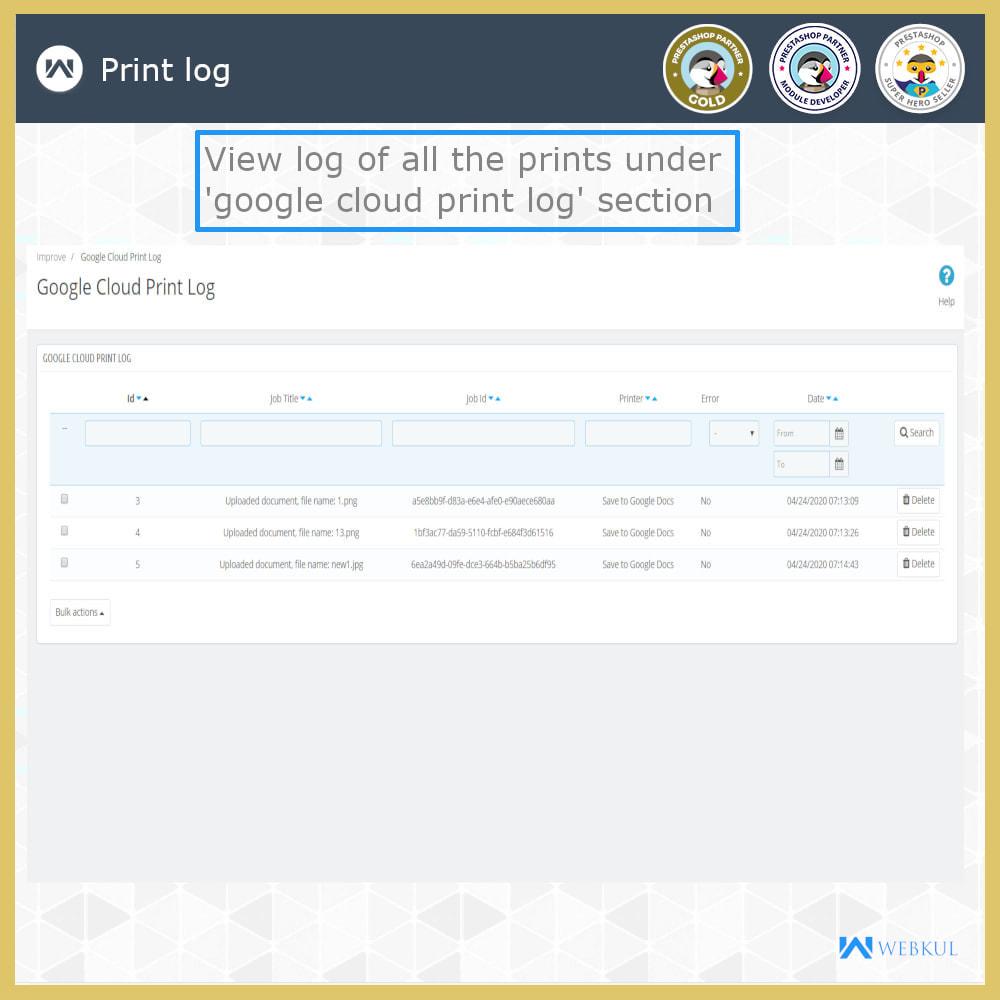 module - Подготовка и отправка - Google Cloud Print - 10