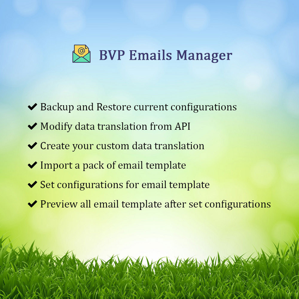 module - E-mails & Notifications - BVP Email Templates Manager Pro - 1