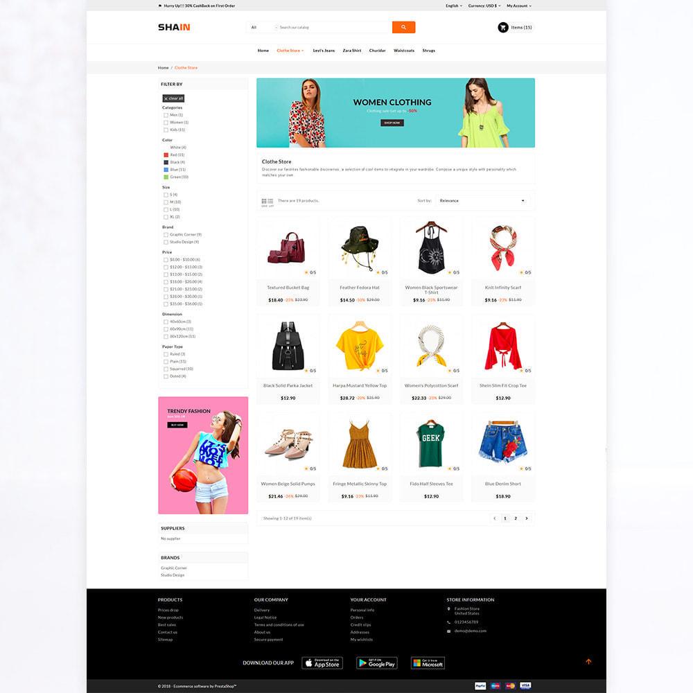theme - Fashion & Shoes - Shain Fashion Stylish Stop - 3
