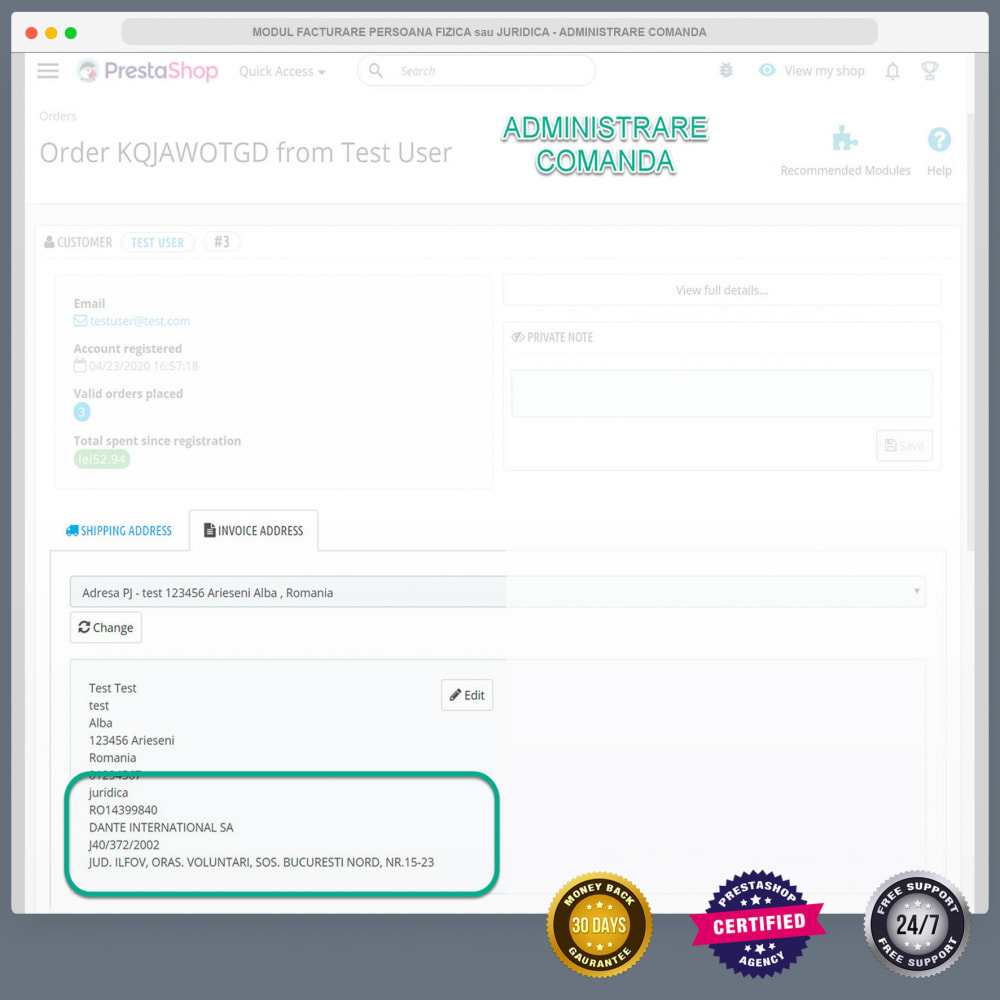 module - Buchhaltung & Rechnung - Facturare - Persoana Fizica sau Juridica - 9