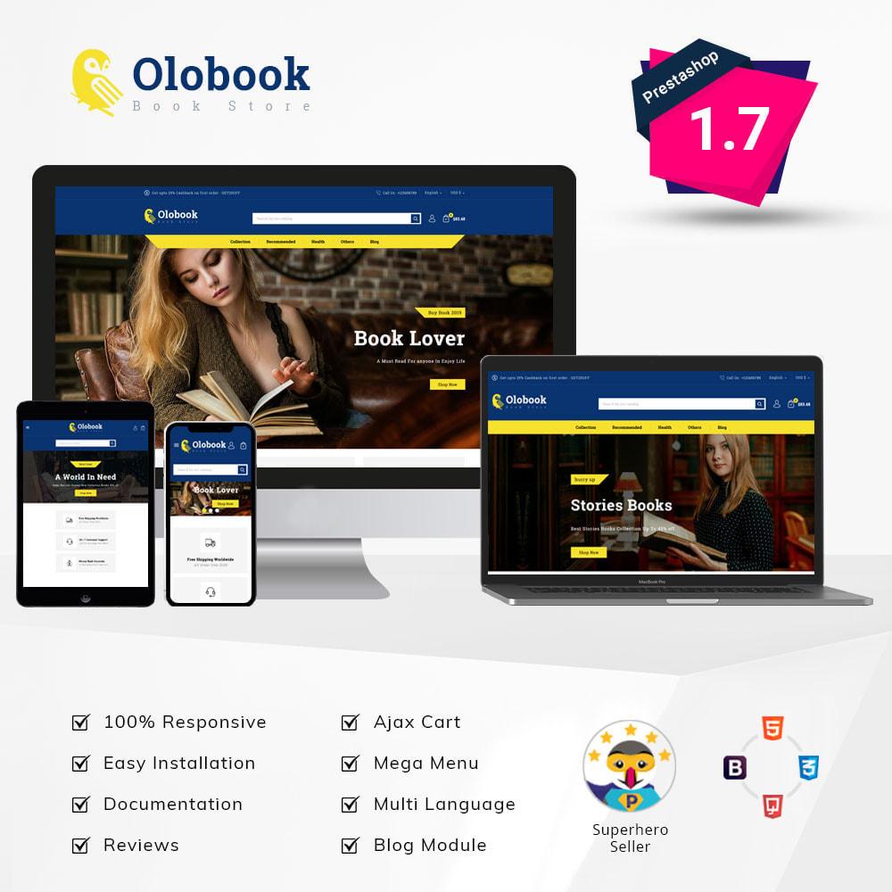 theme - Home & Garden - Olobook - Book Shop - 1
