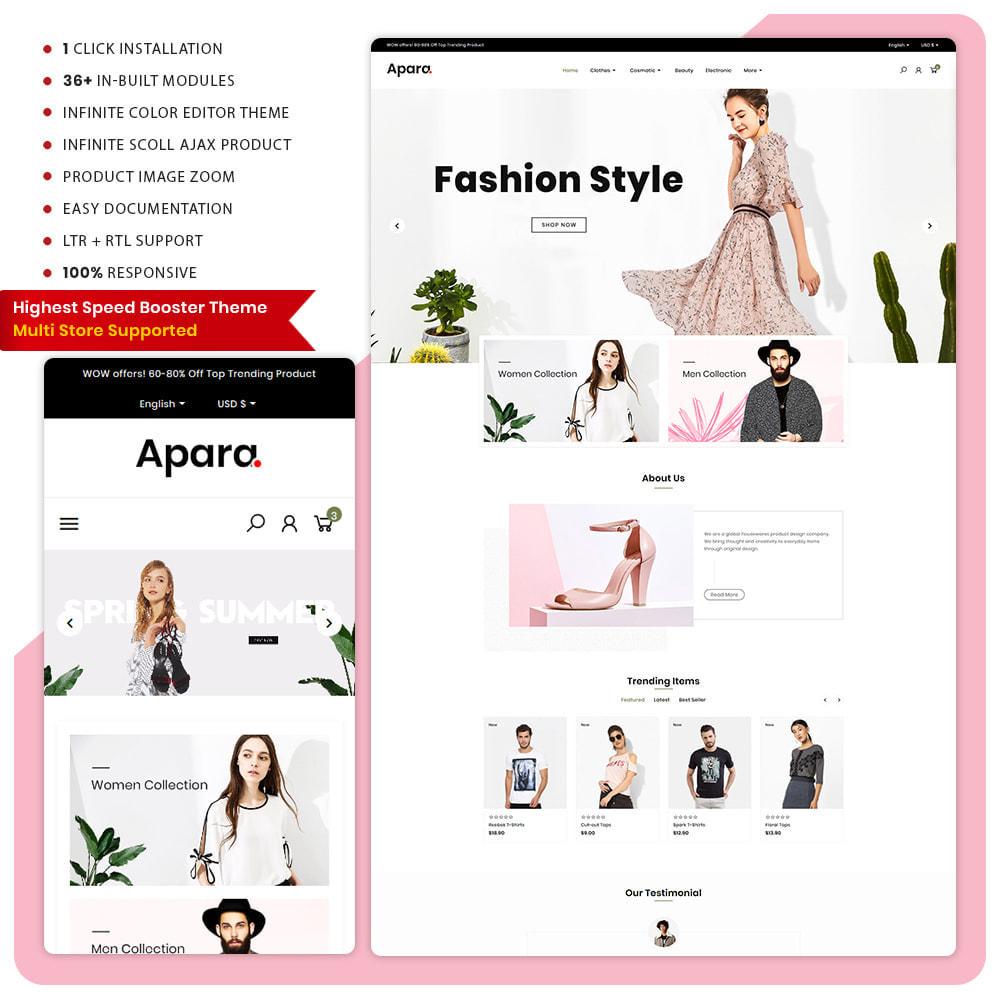 theme - Fashion & Shoes - Apara  Fashion Mega  Mall - 1