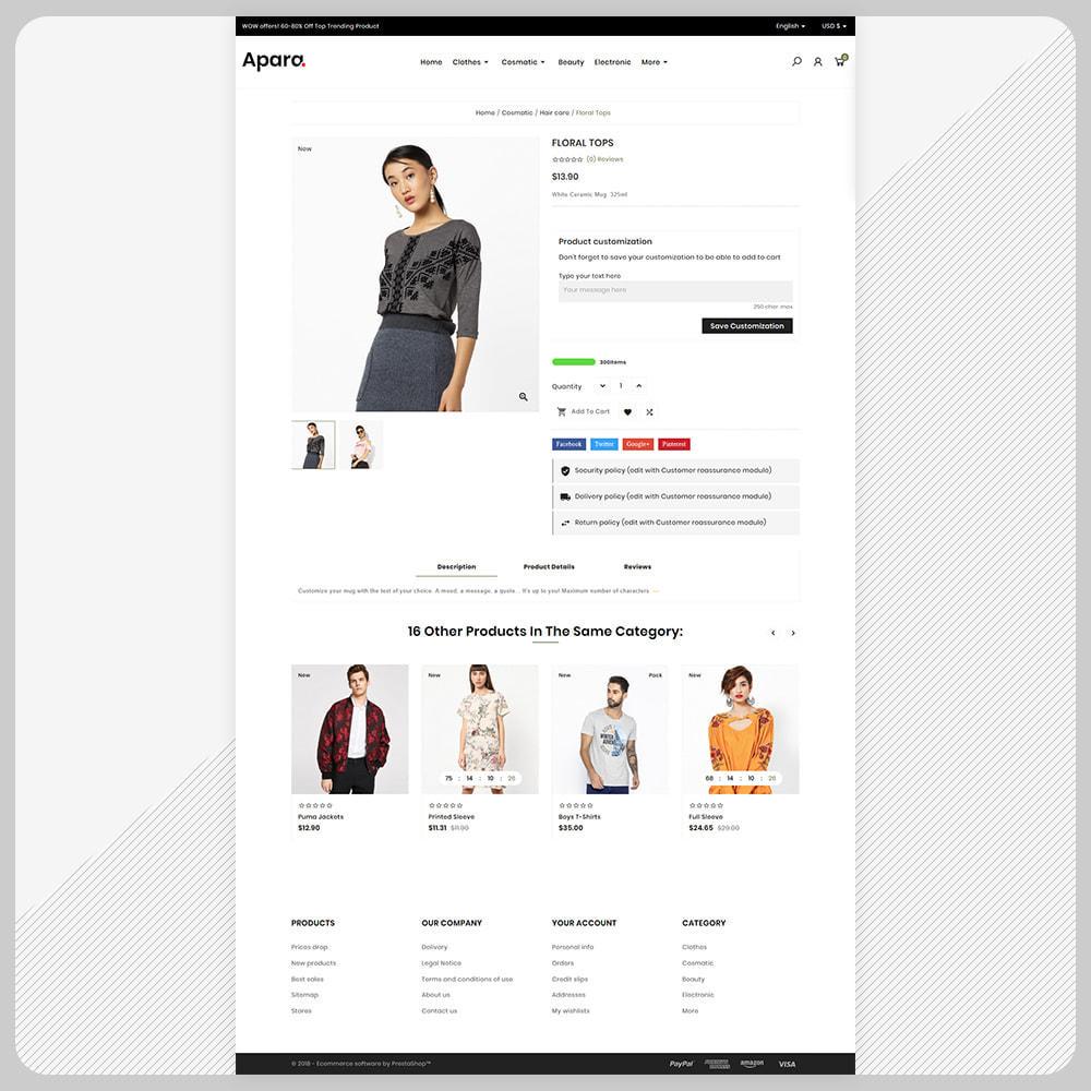 theme - Fashion & Shoes - Apara  Fashion Mega  Mall - 4