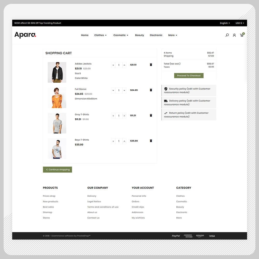 theme - Fashion & Shoes - Apara  Fashion Mega  Mall - 5