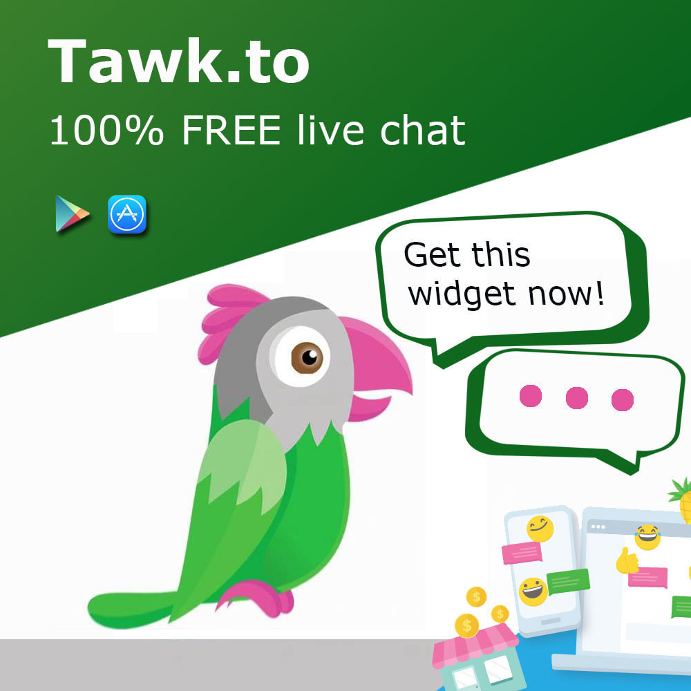 module - Ondersteuning & Online chat - Tawk.to Free Multilanguage Live Chat - 1