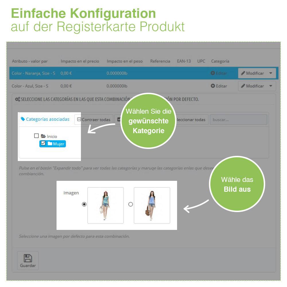 module - Bundels & Personalisierung - Benutzerdefinierte Standardkombination für Kategorien - 3