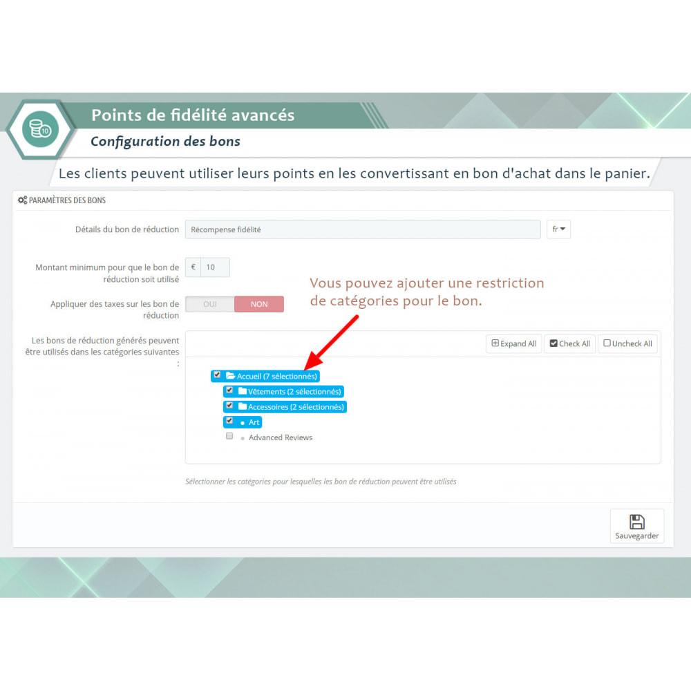 module - Fidélisation & Parrainage - Points de fidélité avancés - 3