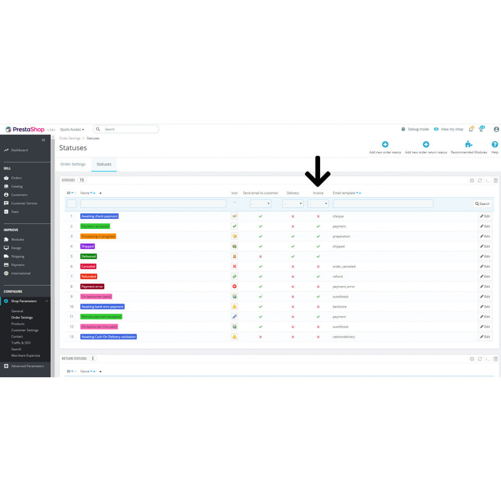 module - Бухгалтерии и выставления счетов - Счет pdf электронная почта копия - 4