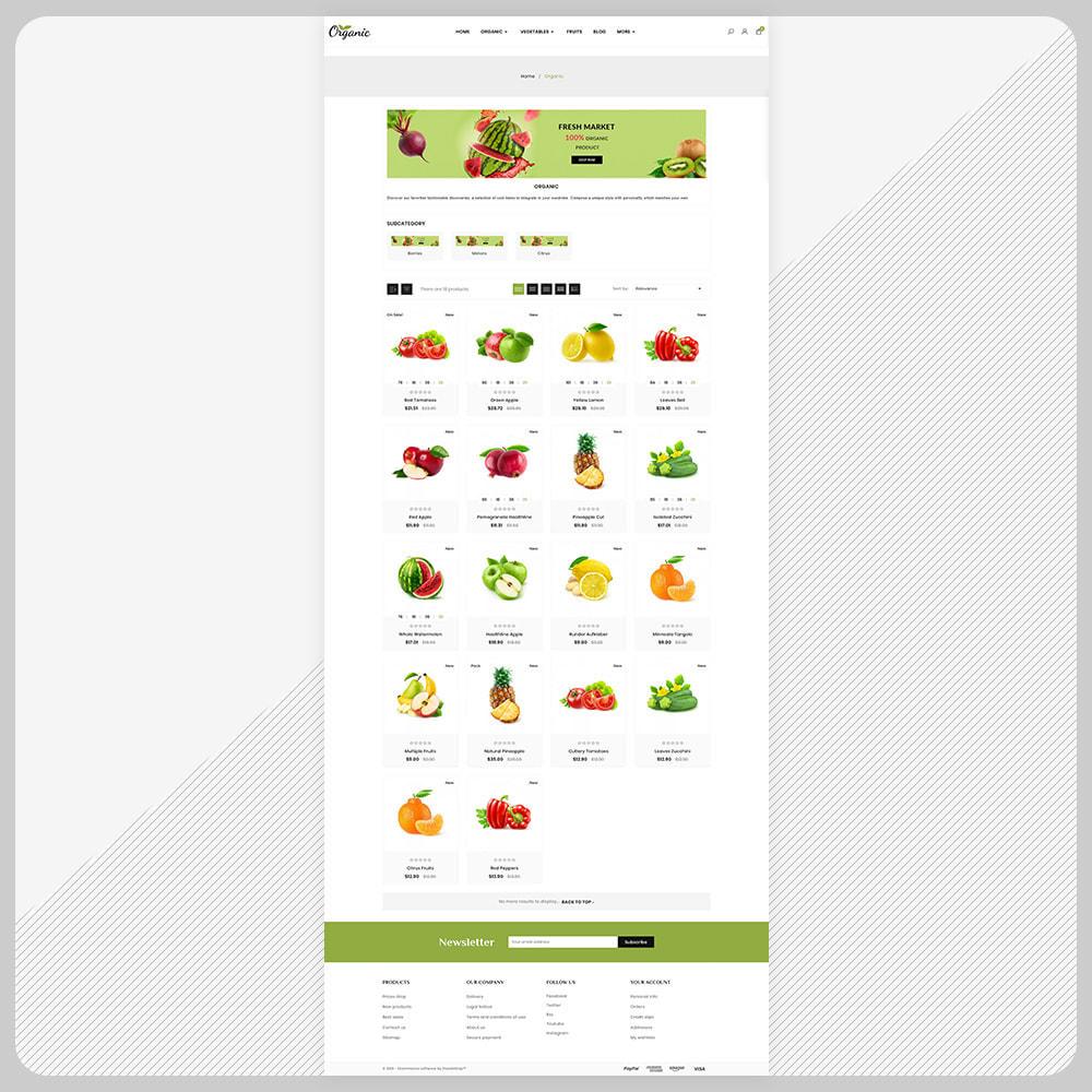 theme - Food & Restaurant - Biologisch -  Organic Fruit Super Store - 3