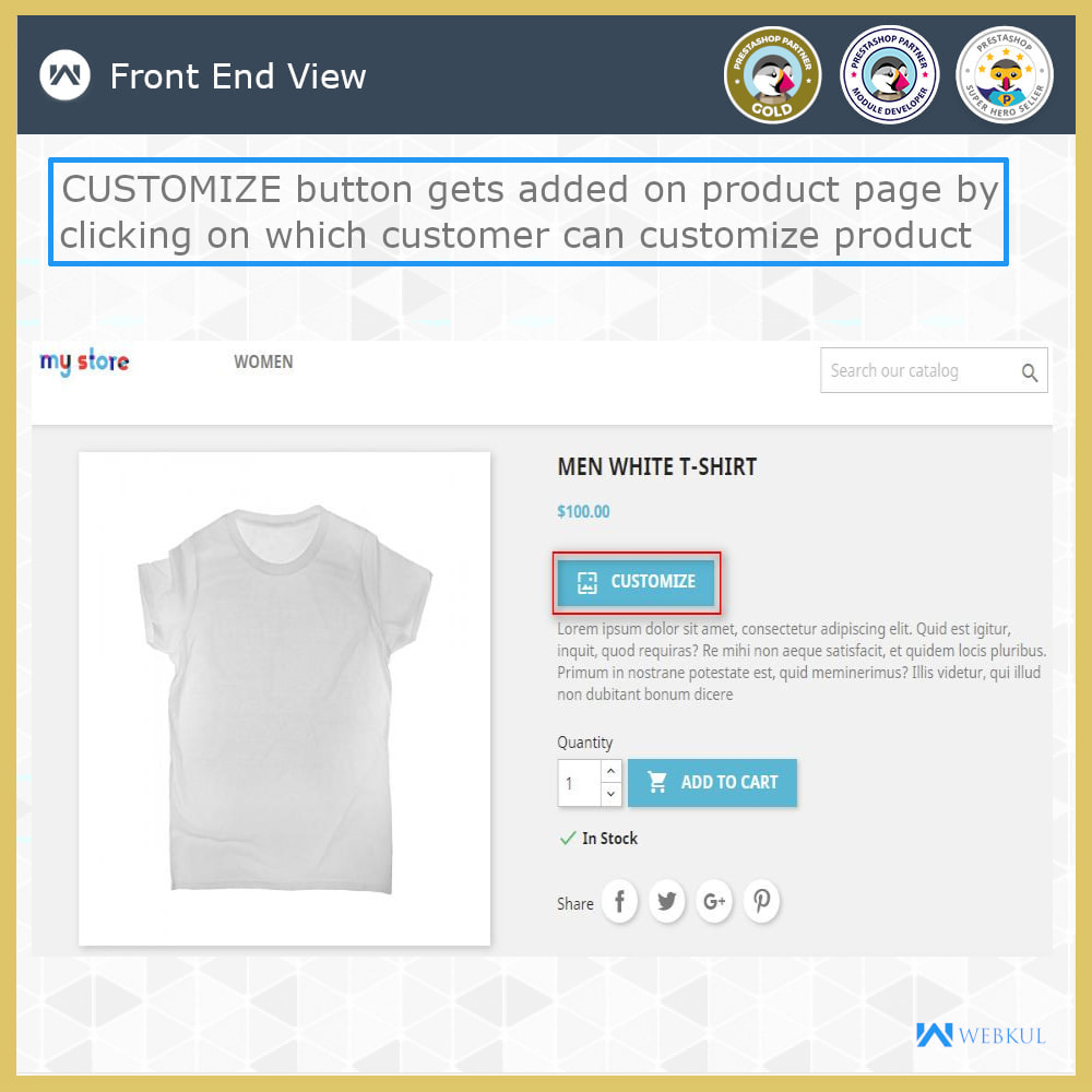 module - Bundels & Personalisierung - Web To Print -  Product Customize - 7