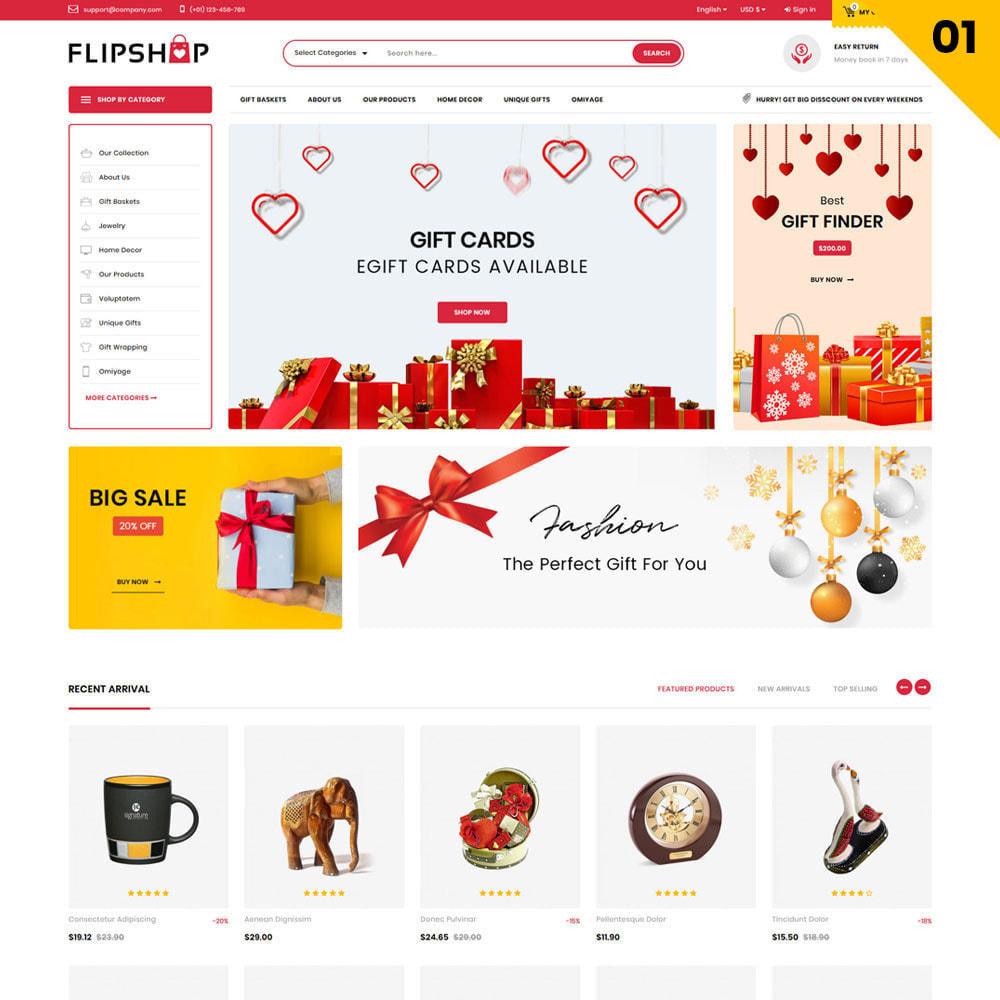 theme - Regalos, Flores y Celebraciones - Flipshop - La tienda de regalos - 4