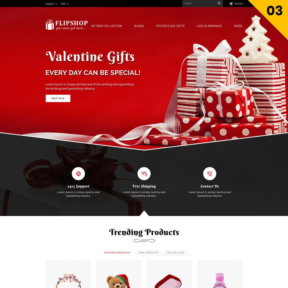 theme - Regalos, Flores y Celebraciones - Flipshop - La tienda de regalos - 6