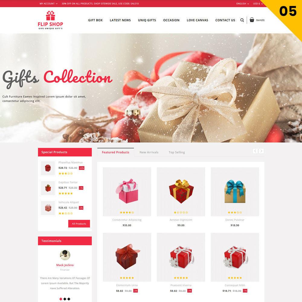 theme - Regalos, Flores y Celebraciones - Flipshop - La tienda de regalos - 8
