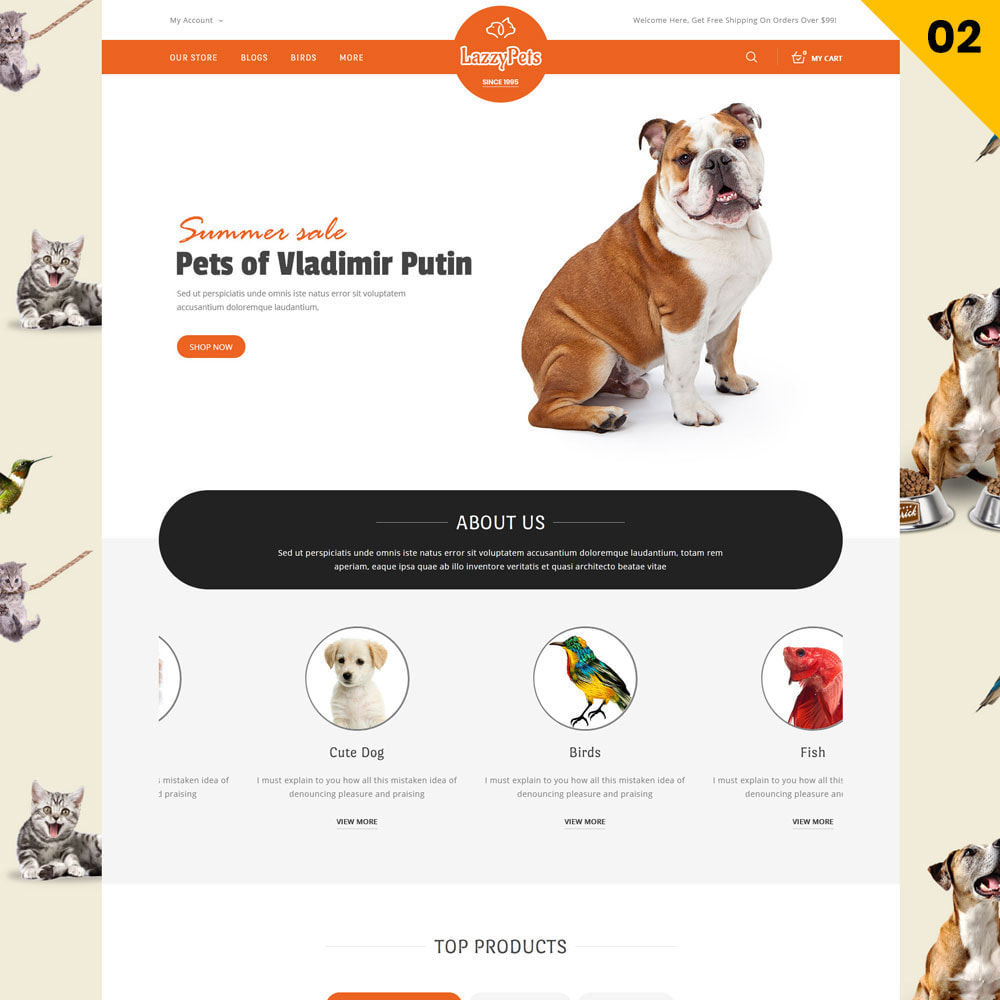 theme - Animali - lazzypets - The Animal Store - 3