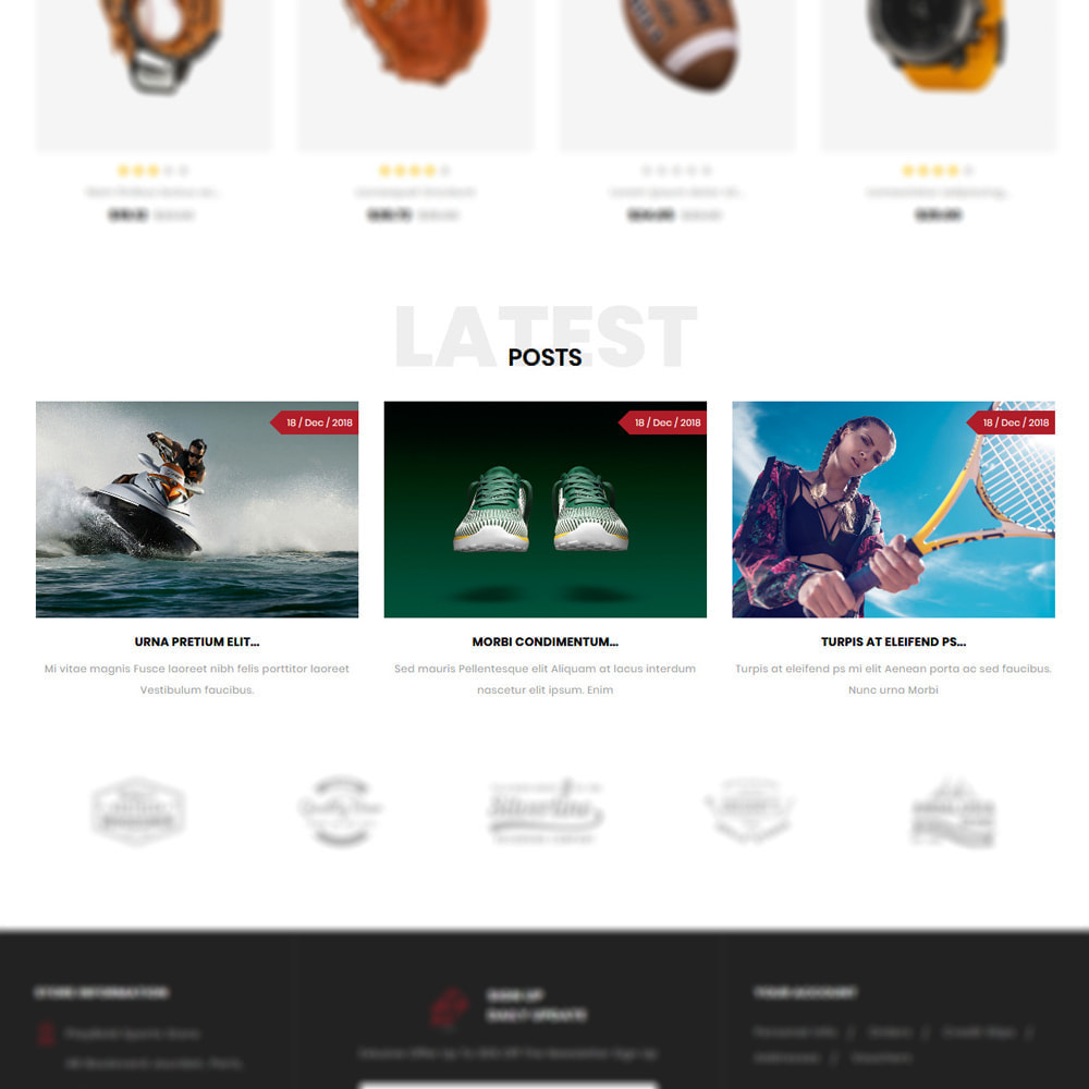 theme - Sports, Activities & Travel - Playbold - Sports Store - 5