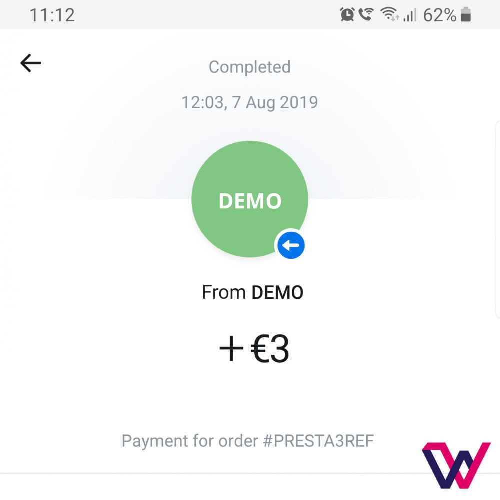 module - Pagamento con Carta di Credito o Wallet - REVOLUT.ionary Payments with QR Code - 8
