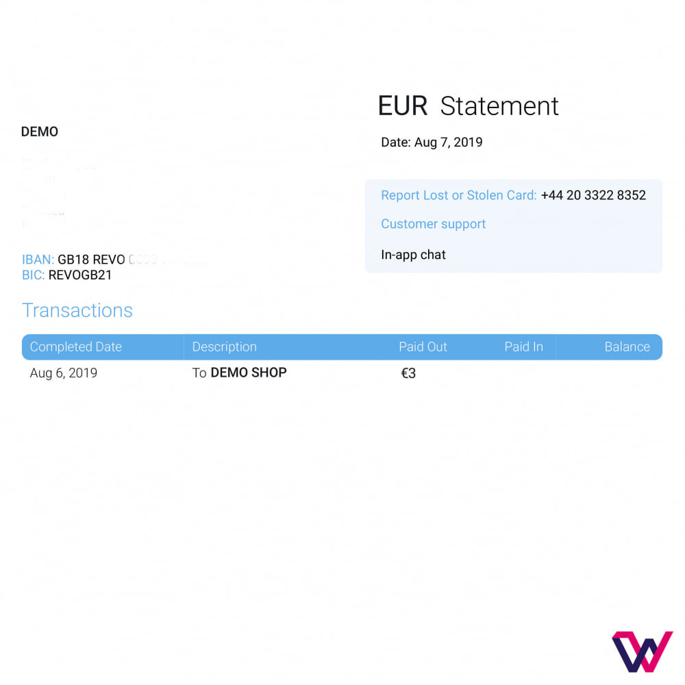 module - Pagamento con Carta di Credito o Wallet - REVOLUT.ionary Payments with QR Code - 9