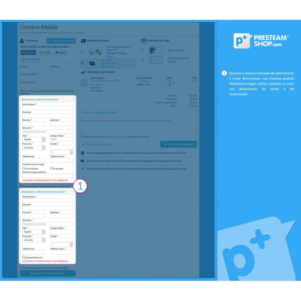 module - Proceso rápido de compra - One Page Checkout PS (Fácil, Rápido e Intuitivo) - 8