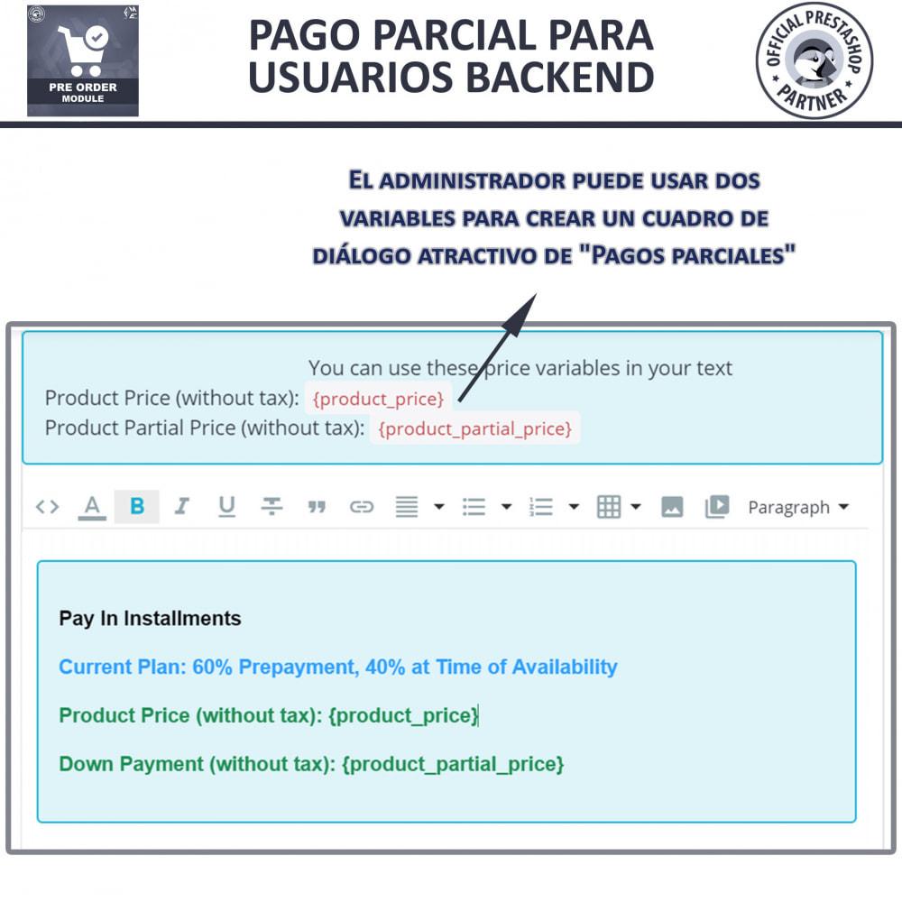 module - Inscripción y Proceso del pedido - Pre-Order - Advance Booking   Out of Stock Selling - 12