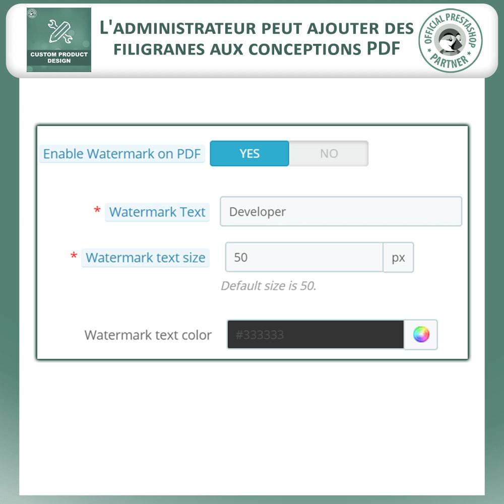 module - Déclinaisons & Personnalisation de produits - Concepteur de produits personnalisés - 14