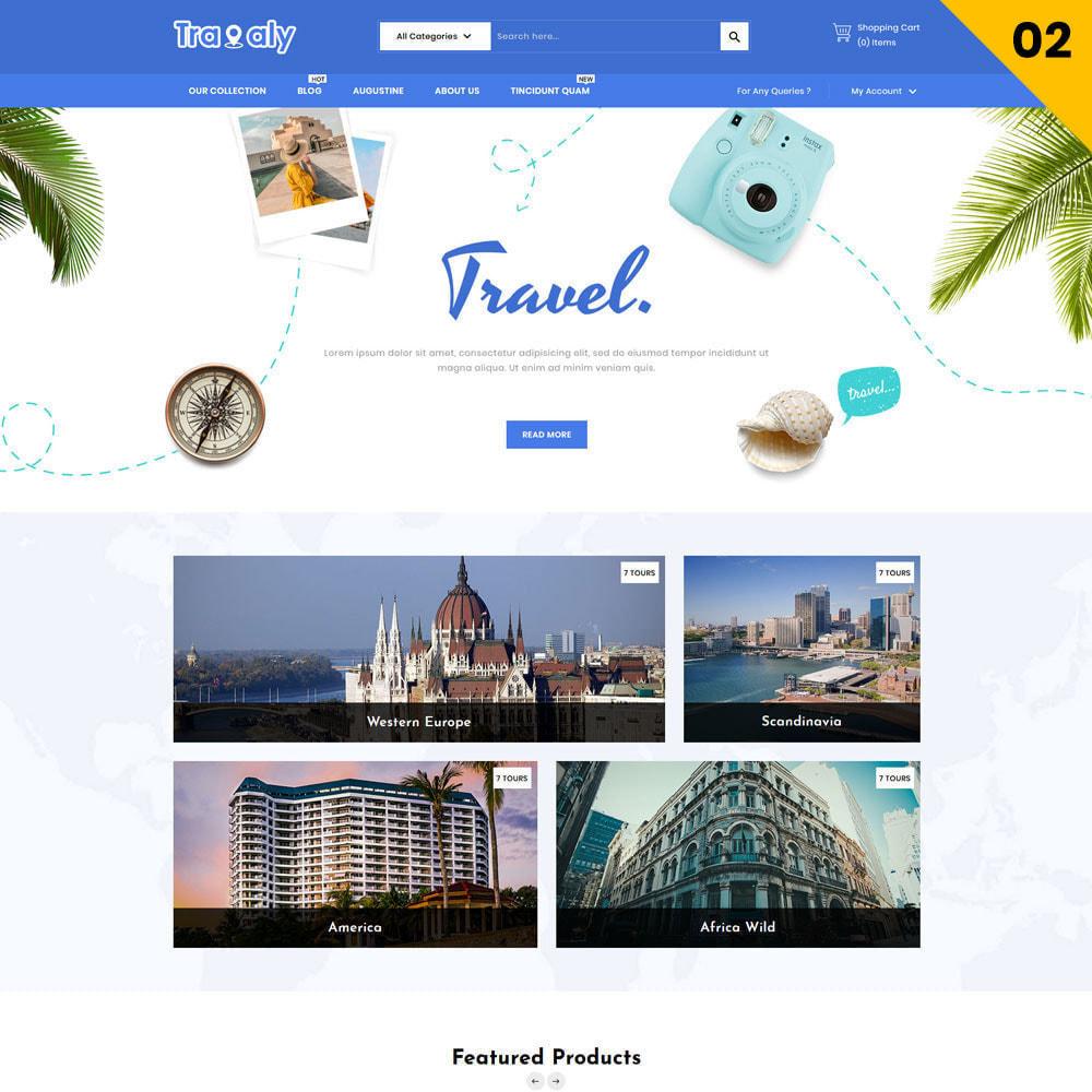 theme - Deportes, Actividades y Viajes - Travaly - La tienda de turismo - 4