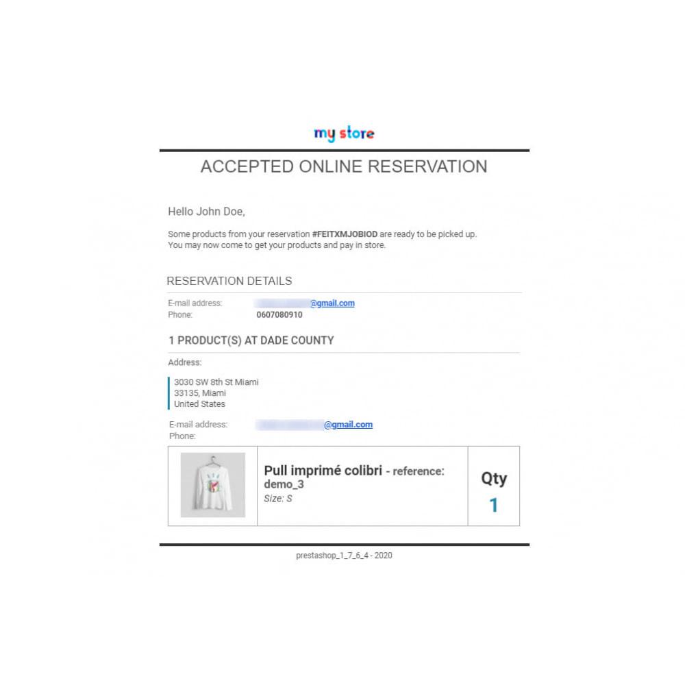 module - Gestión de Stock y de Proveedores - Click & Collect Advanced / E-Reservation - 8