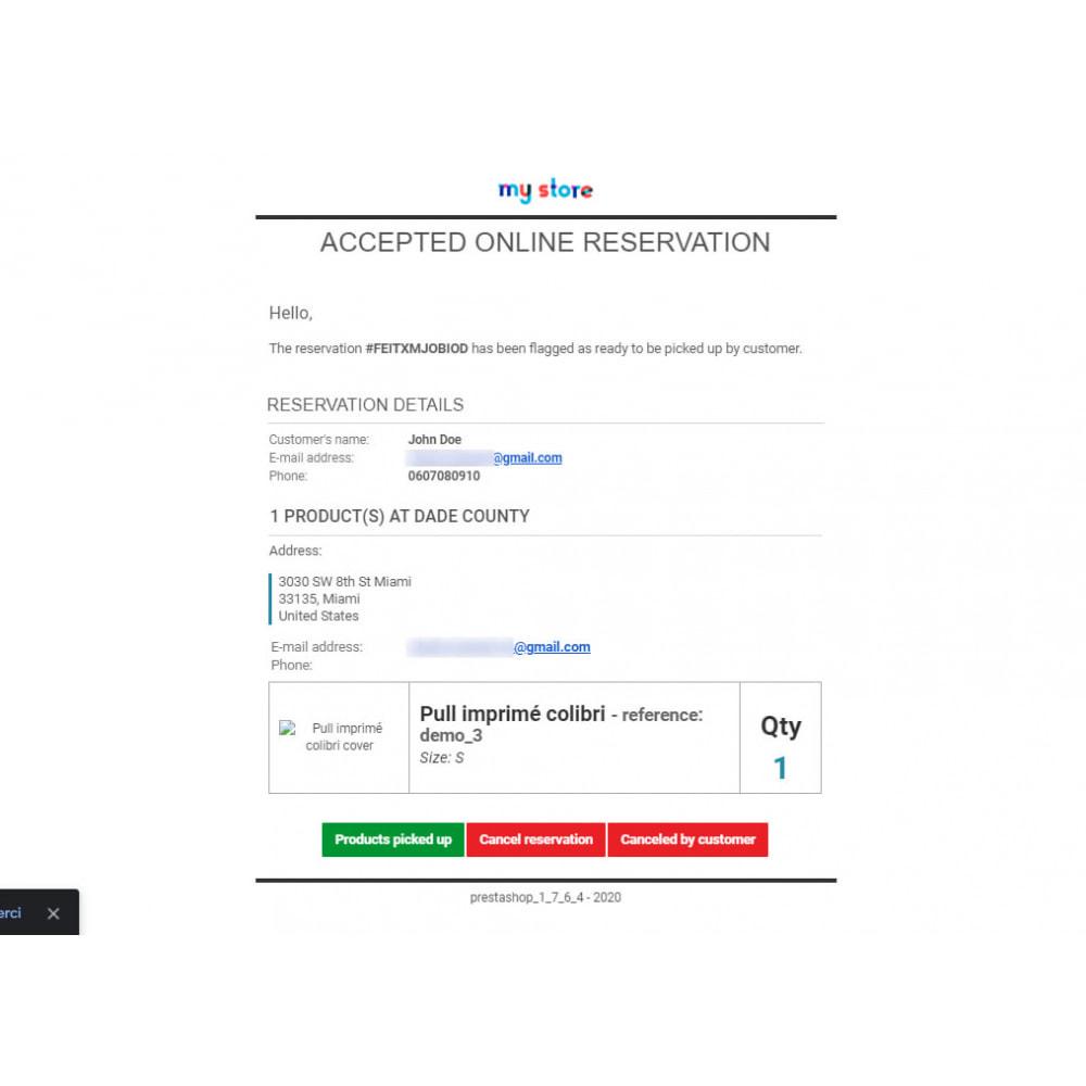 module - Gestión de Stock y de Proveedores - Click & Collect Advanced / E-Reservation - 9