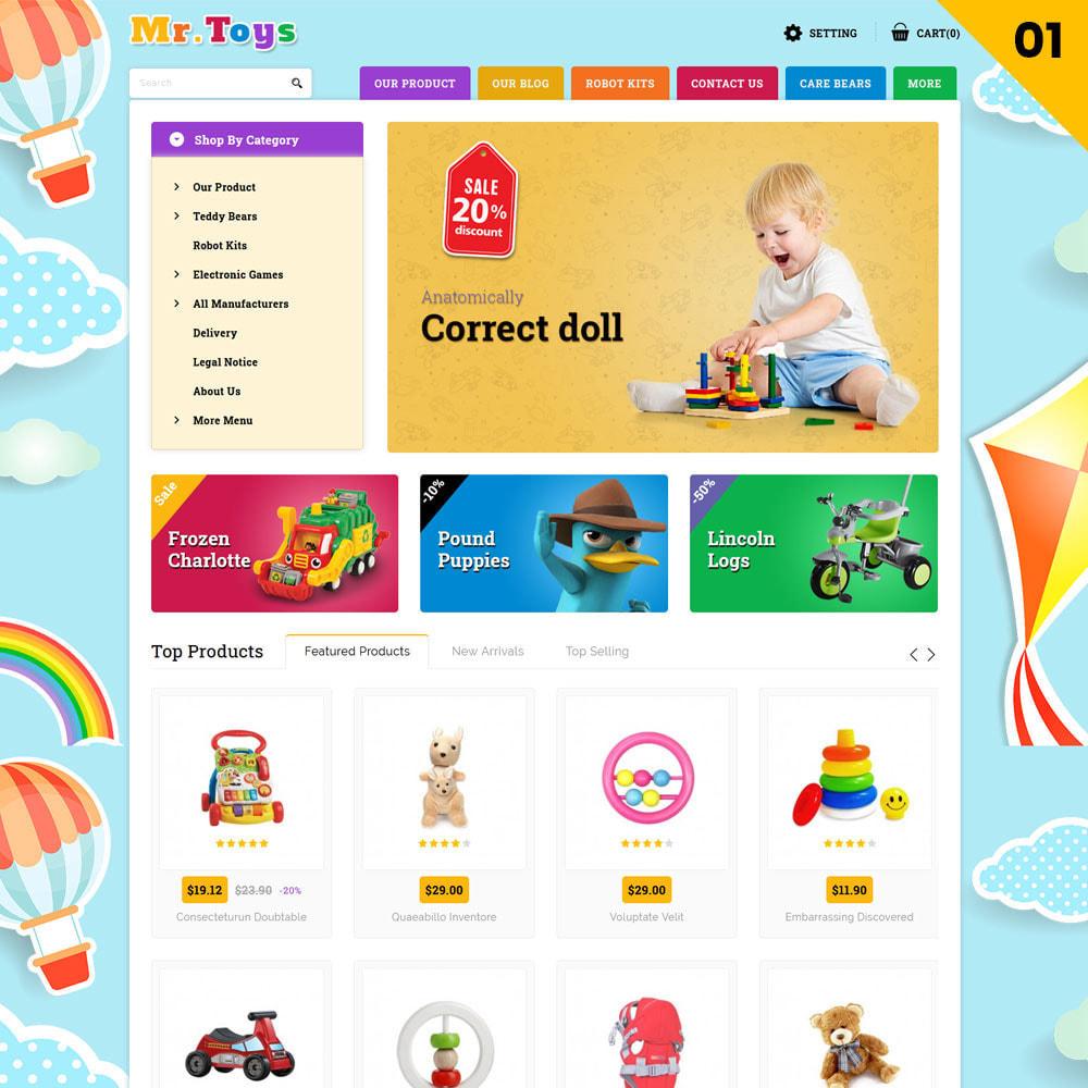 theme - Bambini & Giocattoli - Mr Toys - Il negozio di giocattoli - 4