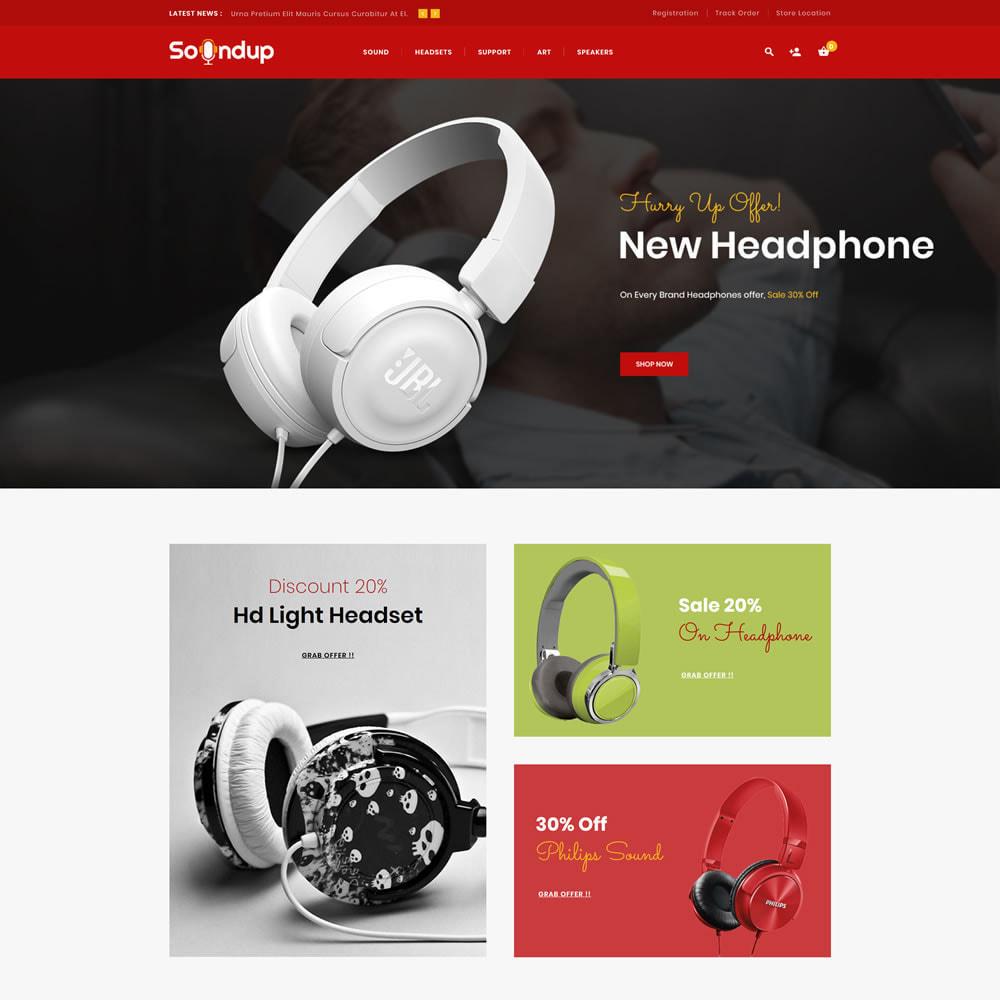 theme - Electronics & Computers - Soundup - Music Store - 1