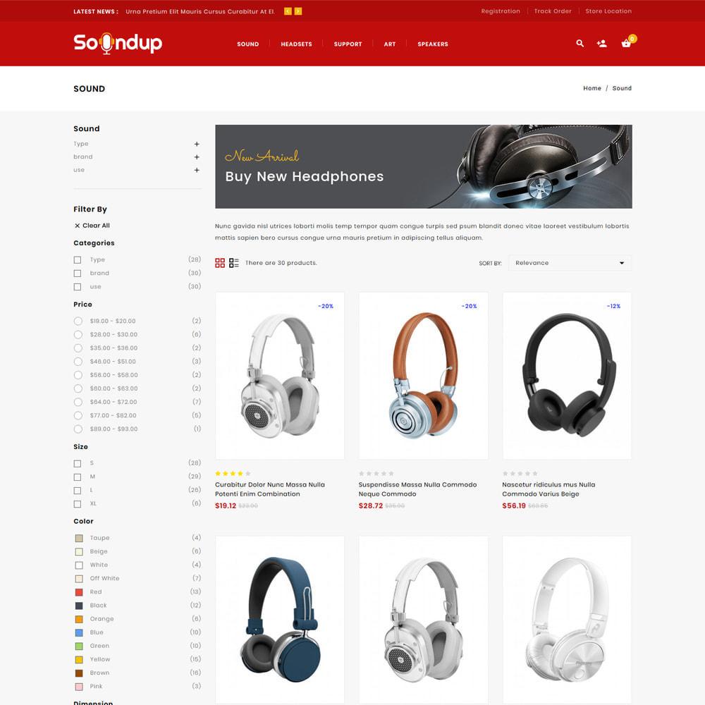 theme - Electronics & Computers - Soundup - Music Store - 3