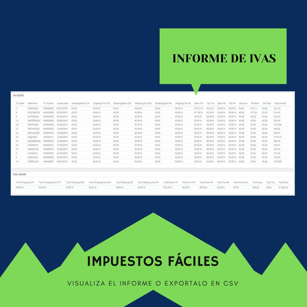module - Contabilidad y Facturas - Resumen del IVA - 3