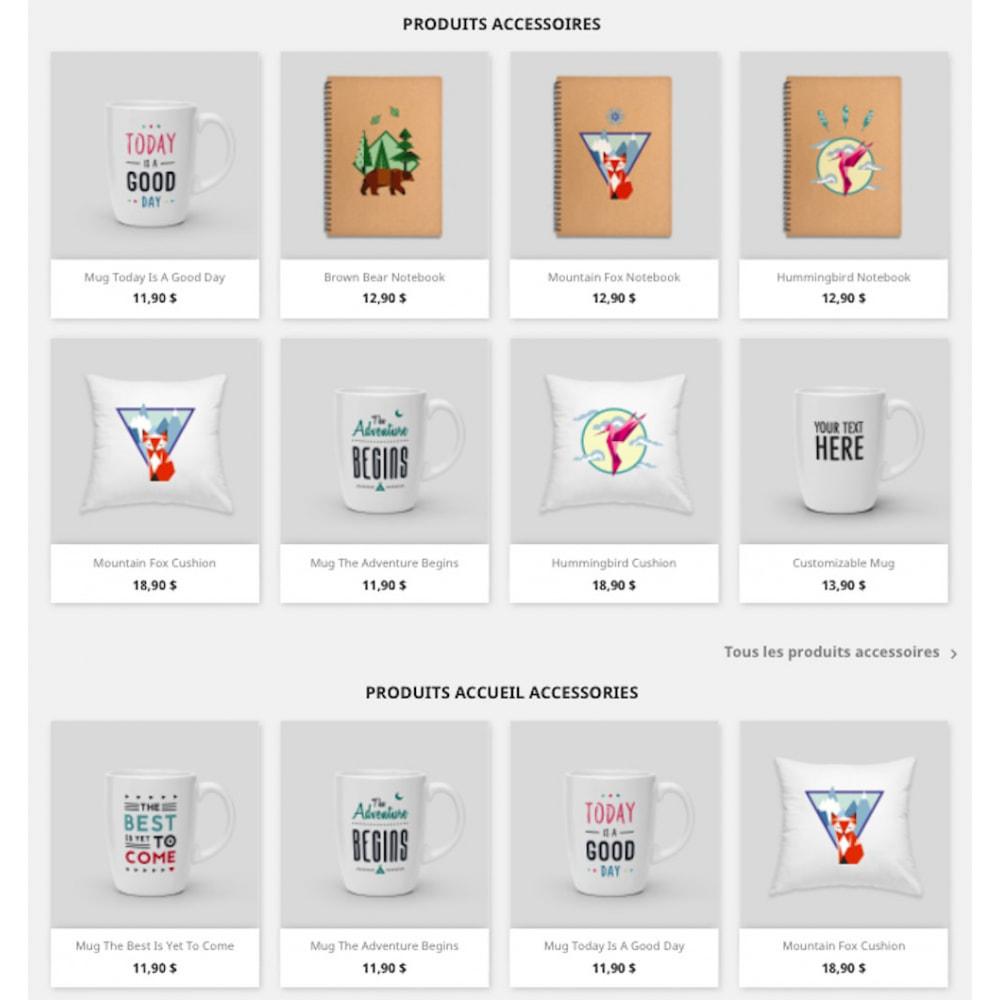 module - Produits en page d'accueil - Home Product by Category - Blocs produits par catégorie - 3