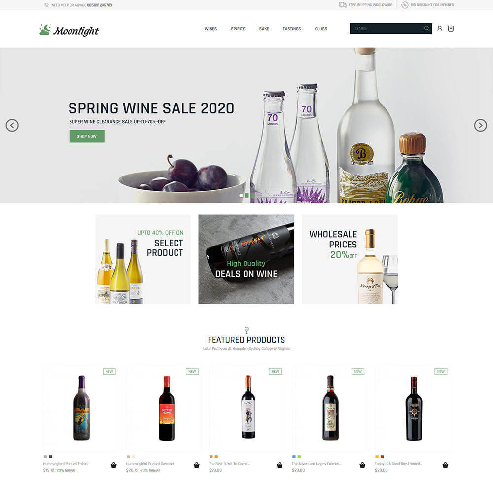 theme - Drink & Tobacco - Beer Bar Drink - Red Wine Store - 2