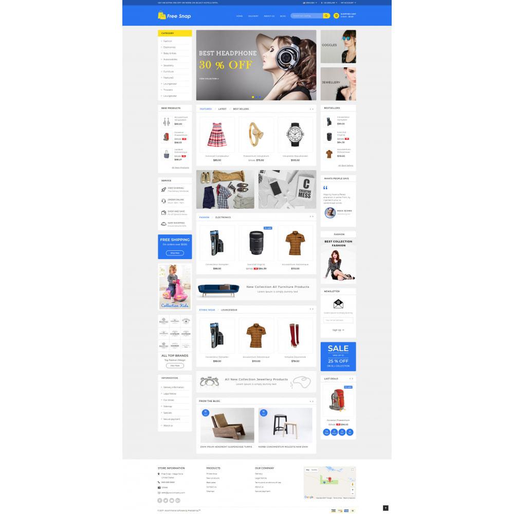 theme - Fashion & Shoes - Free Snap - Multipurpose Store - 2