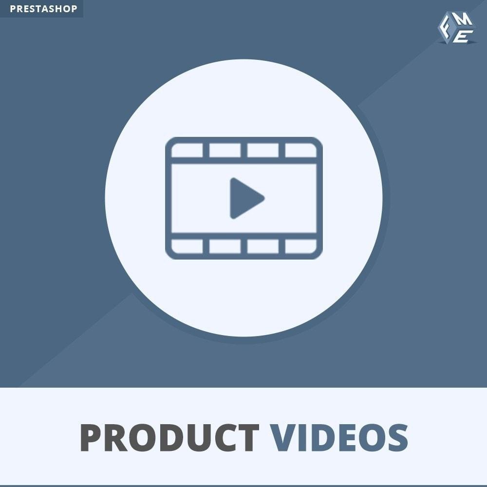 module - Видеоролики и Музыка - Видео о продуктах - Вставить YouTube, Vimeo - 1