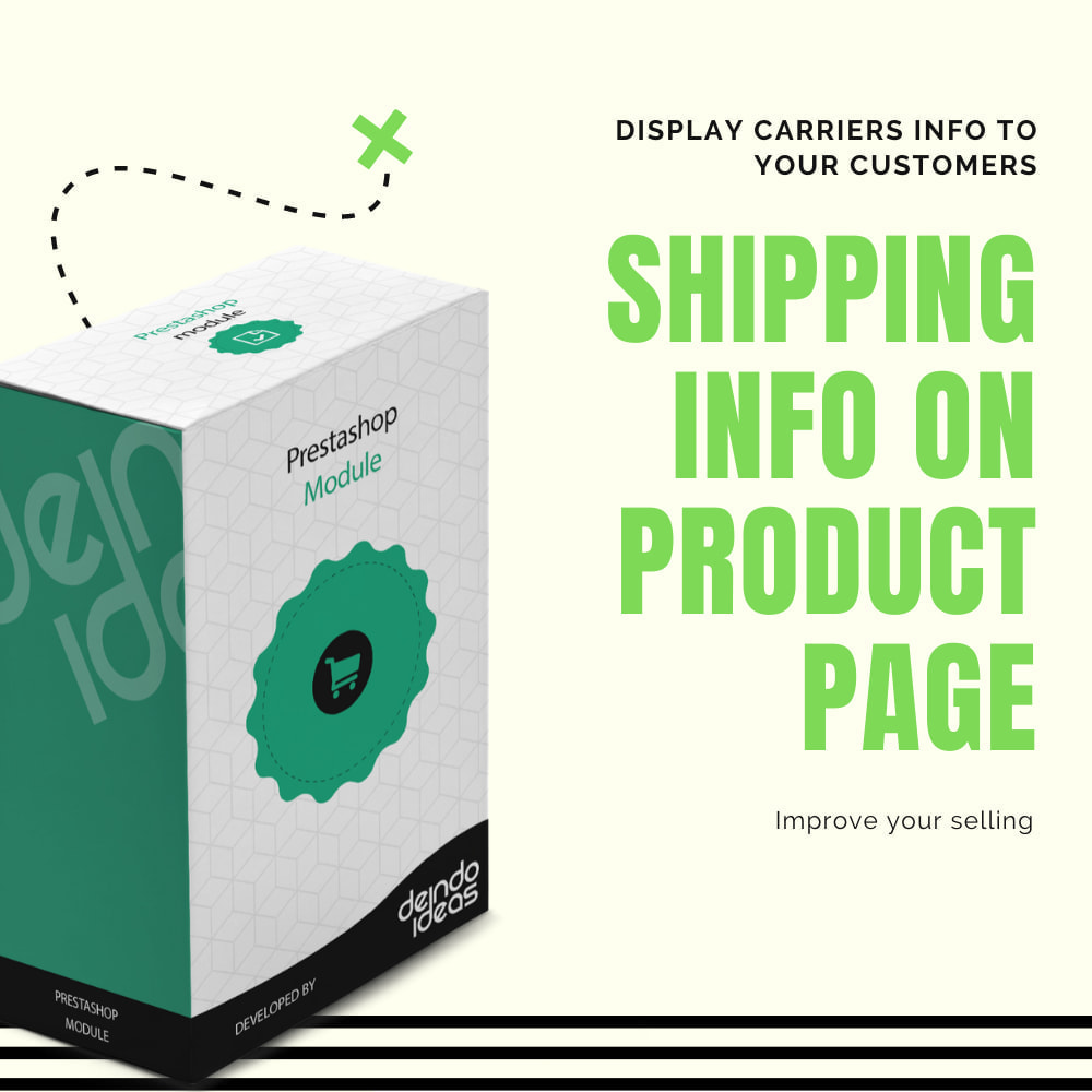 module - Shipping Costs - Shipping cost on product's page - 1