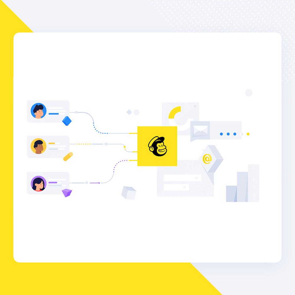 module - Newsletter & SMS - Newsletter Popup: MailChimp, HubSpot, SendinBlue + API - 4