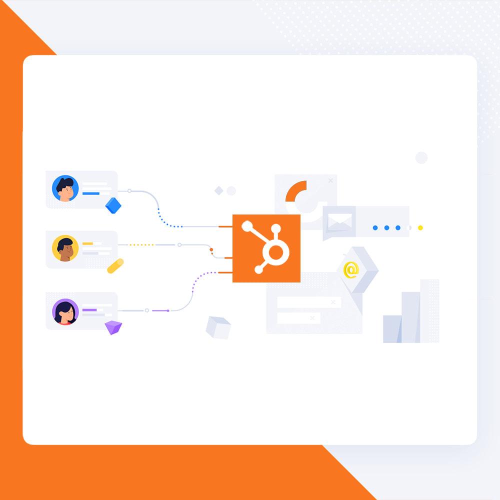 module - Newsletter & SMS - Newsletter Popup: MailChimp, HubSpot, SendinBlue + API - 5