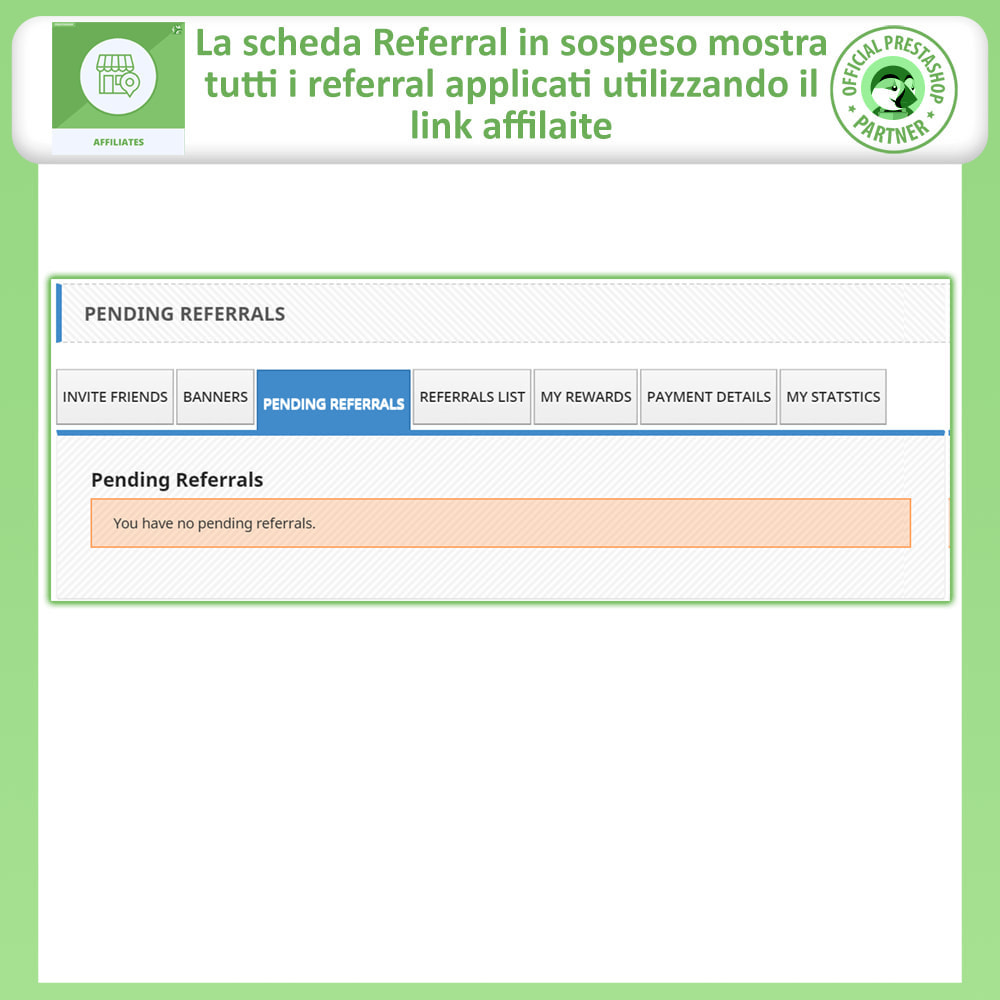 module - Indicizzazione a pagamento (SEA SEM) & Affiliazione - Modulo Pro Affiliati - 6