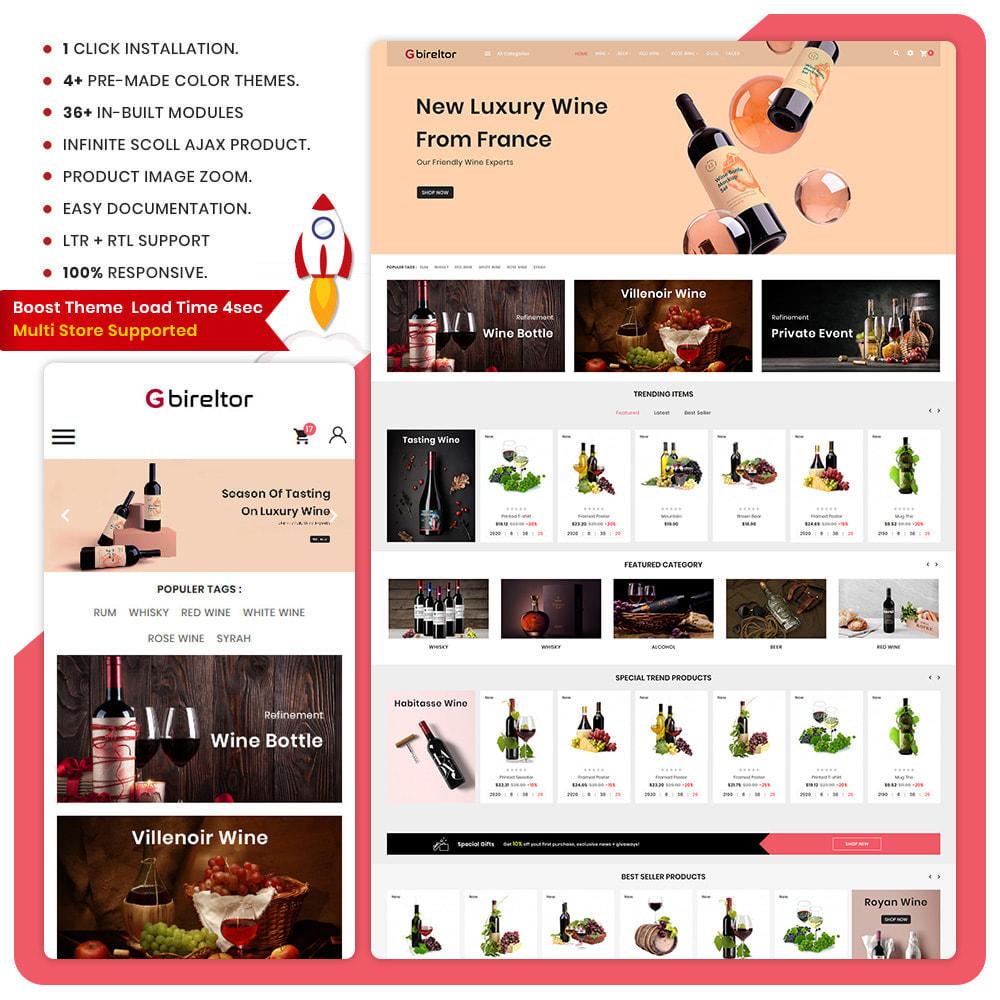 theme - Drink & Tobacco - Gbireltor The Wine Shop - 1