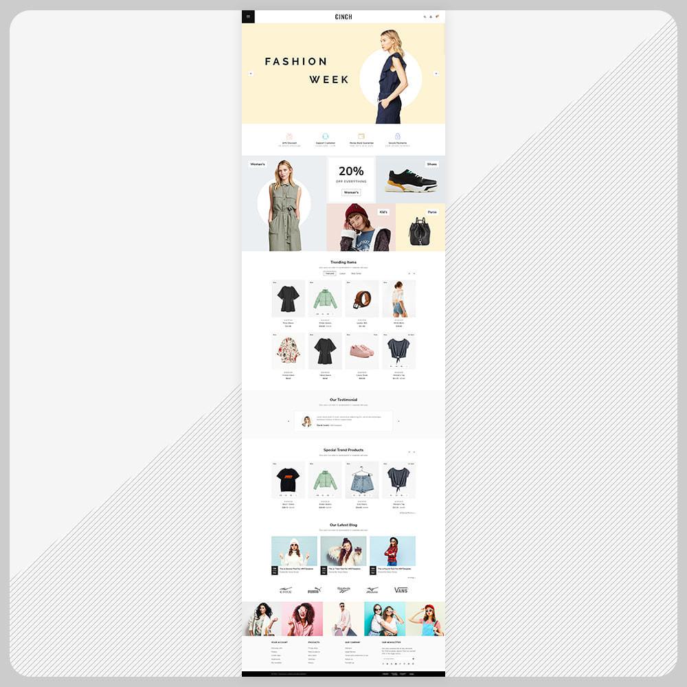 theme - Мода и обувь - Cinch Fashion Super Market - 2