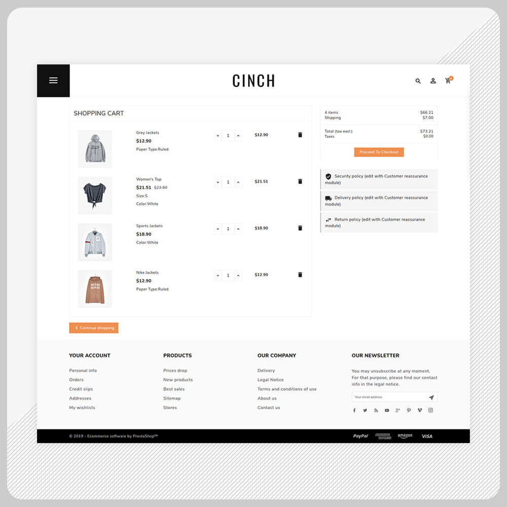 theme - Мода и обувь - Cinch Fashion Super Market - 5