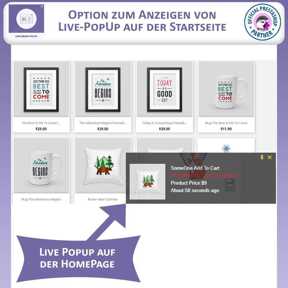 module - Pop-up - Live-Verkauf Pop-up - 2