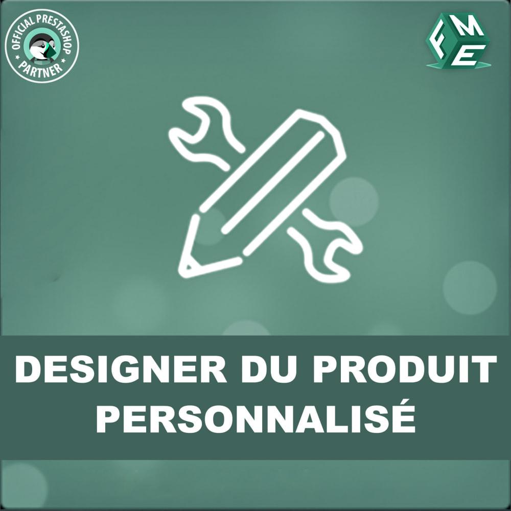 module - Déclinaisons & Personnalisation de produits - Concepteur de produits personnalisés - 1